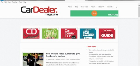 MEDIA COVERAGE | Car Dealer Magazine : New website helps customers give feedback to dealers
